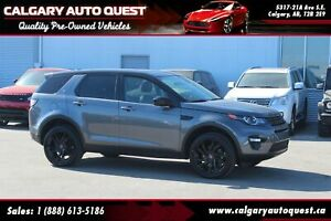 2016 Land Rover Discovery Sport HSE LUXURY 4WD/NAVI/B.CAM/3RD RO
