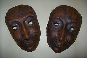 DECORATIVE CLAY MASKS Hahndorf Mount Barker Area Preview