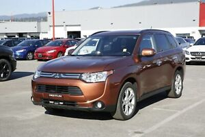 2014 Mitsubishi Outlander GT - SUNROOF, ALLOY WHEELS, LEATHER !
