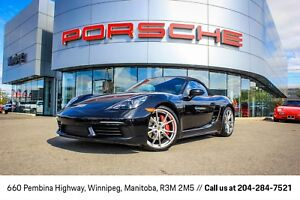 2017 Porsche 718 Boxster S Certified Pre-Owned Warranty With Unl