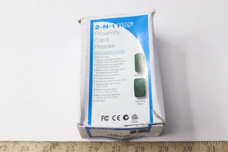 620-100451 2-N-1 HAF 125 kHz Multi-Protocol Proximity Card Reader