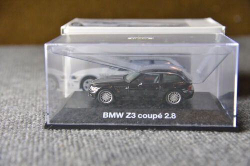 BMW M Coupe M3 Z3 Dealer Edition Mini Champs Coupe Black Collector Model Toy 2.8