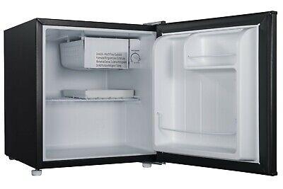 Mini Fridge Small Refrigerator Freezer 1.7 CU FT Single Door Compact Black Metal
