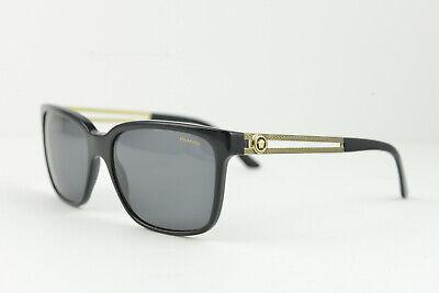 VERSACE MOD.4307 GB1/81 58-17 145 3P women's POLARIZED sunglasses Black/Gold