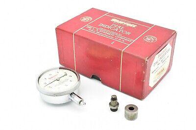 Starrett Dial Indicator No 25-t1 Reading 0-5-0 Jeweled .0001 Special Bridgeport