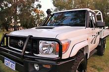2012 Toyota Landcruiser VDJ79R WORKMATE (4x4) MY12 UPDATE East Victoria Park Victoria Park Area Preview