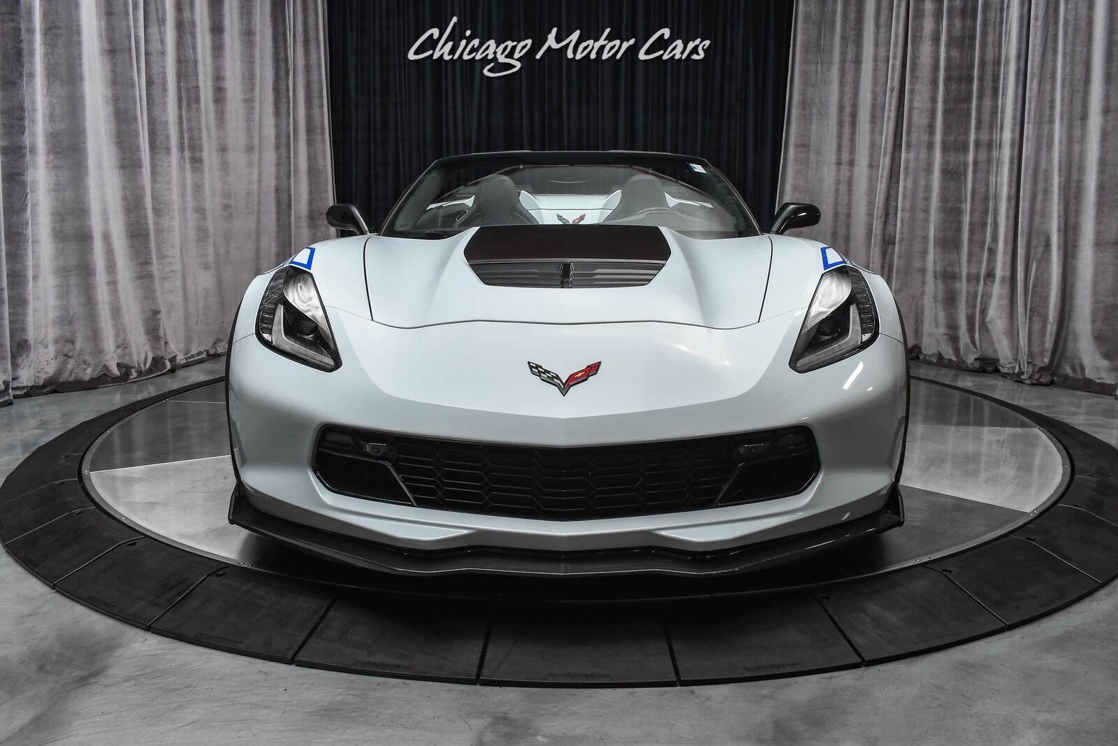 2018 White Chevrolet Corvette Z06 3LZ | C7 Corvette Photo 7