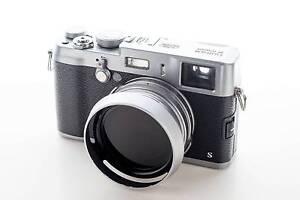 Fujifilm X100s 16.3 MP Digital Camera - Black Silver Bundle Cabramatta Fairfield Area Preview
