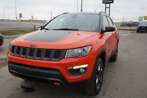 2017 Jeep Compass Trailhawk-Leather Seats-Nav-Sunroof-AWD