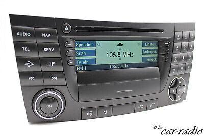 Original Mercedes Audio 50 APS BE7036 CD W211 Navigationssystem S211 E-Klasse G1 gebraucht kaufen  Gütersloh