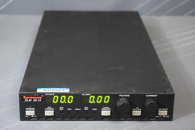 Sorensen Dlm 40-15 Dc Power Supply 40 V 15 A 600 W Programmable Calibrated