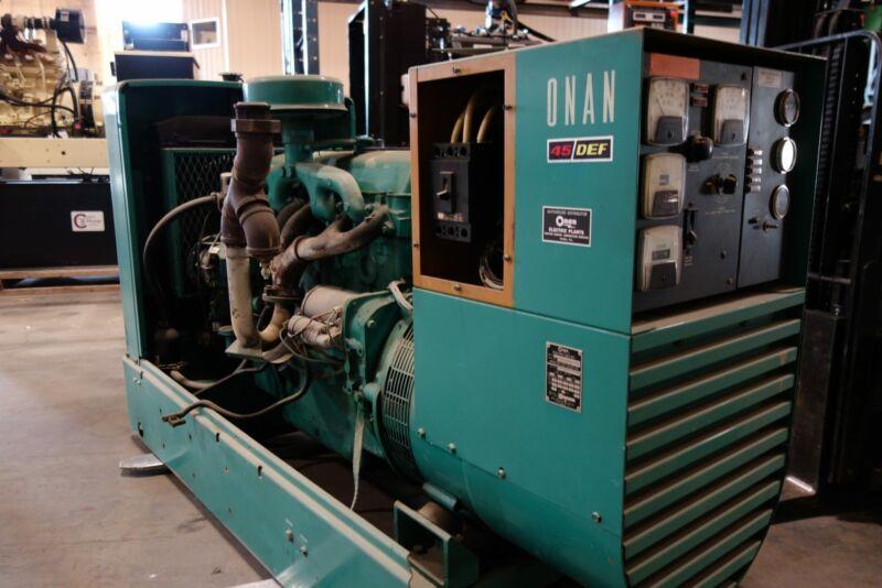 45kW Onan/Ford Diesel Standby Generator