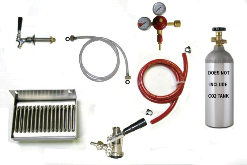 Kegerator Keg Beer Dispenser Tap Bar Kit # HTK2