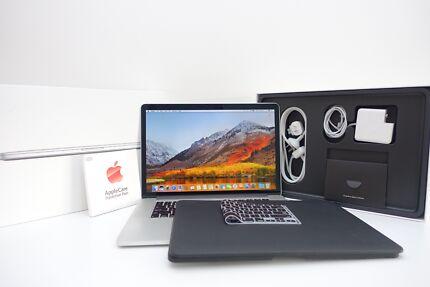 Macbook Pro Retina 15in 2015 +APPLECARE 2019 + CUSTOM 500SSD 16GB