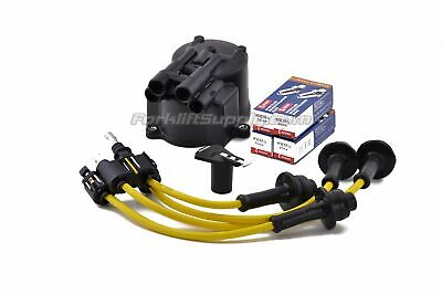 TOYOTA 4Y  FORKLIFT TUNE UP KIT WITH DENSO MADE IN JAPAN W9-EP SPARK PLUGS