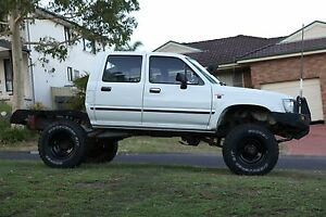 1993 Toyota Hilux Dual Cab Ute Mardi Wyong Area Preview