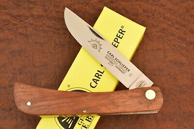 GERMAN EYE BRAND CARL SCHLIEPER JUMBO WOOD SODBUSTER KNIFE SOLINGEN GERMANY 8219
