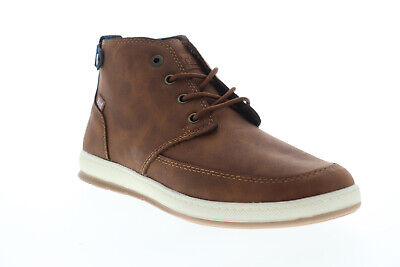 G.H. Bass Atwater Wx B 713288-Brtn Mens Brown Chukkas Lace Up Boots Shoes