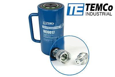 Temco Hc0017 - Hydraulic Cylinder Ram Single Acting 50 Ton 6 Inch Stroke