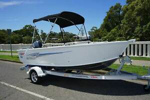 NEW 2016 STACER 449 OUTLAW TILLER STEER WITH YAMAHA 50HP 4-STROKE Wynnum Brisbane South East Preview