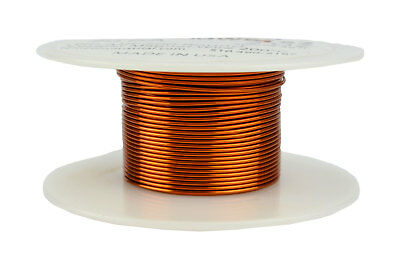 Temco Magnet Wire 20 Awg Gauge Enameled Copper 200c 2oz 39ft Coil Winding