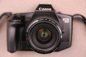 Canon EOS 650 + 35-70/3.5-4.5 film outfit - exc cond & works well Sydney City Inner Sydney Preview