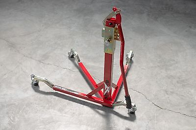 BURSIG Motorcycle Center-Lift Stand Paddock Garage Red Ducati *BACKORDERED*