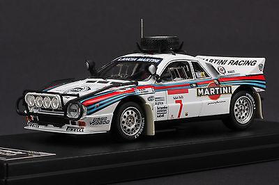 Last One - Lancia 037 Martini #7 - 1984 Safari Rally - HPI #8230 1/43