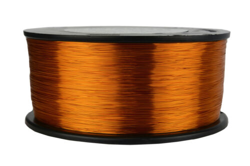 TEMCo Magnet Wire 30 AWG Gauge Enameled Copper 200C 1.5lb 4698ft Coil Winding