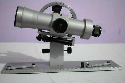 Antique Brass Aluminium Telescopic Alidade Surveying Equipment