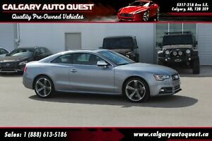 2016 Audi S5 3.0T Technik AWD/NAVI/B.CAM/LEATHER/ROOF