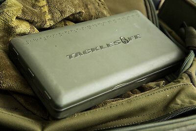 Korda Tacklesafe Rig Box Fishing Tackle Safe Magnetic Storage Case KBOX5