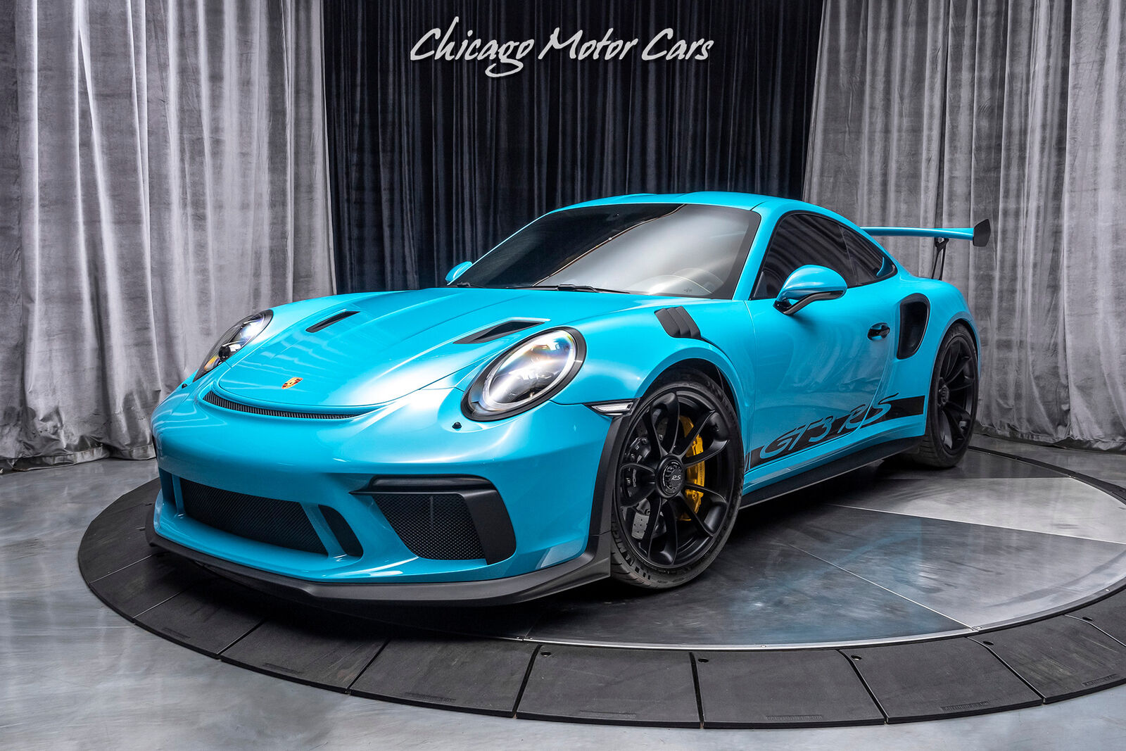 2019 Porsche 911 GT3 RS Coupe - Miami Blue! Only 2500 ...