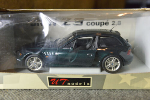 BMW Z3 M3 M Coupe 2.8 Replica Toy Collector Dealer UT Promo Model Green