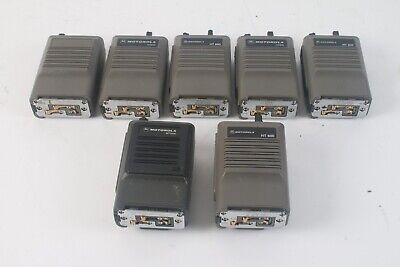 Motorola 6x Ht 600 And 1x Mt 1000 Lot Of 7 Hand Talkies Fm Radio - As Is