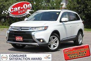 2016 Mitsubishi Outlander PREMIUM AWD LEATHER SUNROOF REAR CAM L