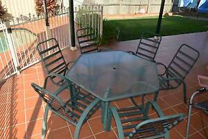 Outdoor Setting - Table and 6 Chairs Glenwood Blacktown Area Preview