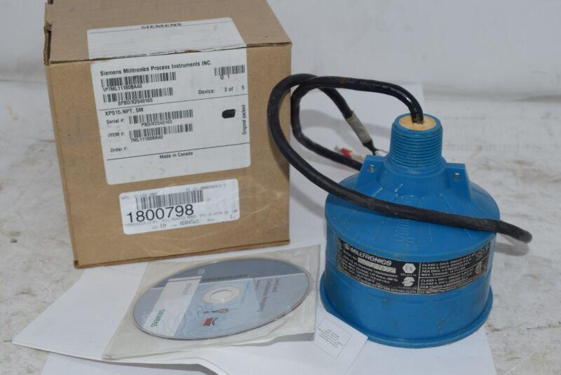 Siemens Milltronics 7ML1118-0BA40 XPS15 NPT 5M Transducer