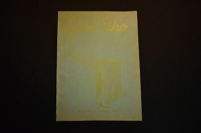1947 The Glen Echo Codorus Township High School Glenville Pa Unsigned Yearbook