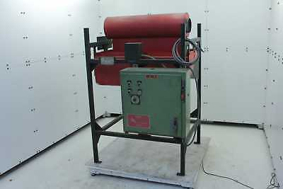 Driquik 2-4-750 Tube Pipe Infrared Ceramic Cone Curing Oven 6 Kw Output 480v