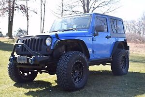 Lifted 2011 Jeep Wrangler
