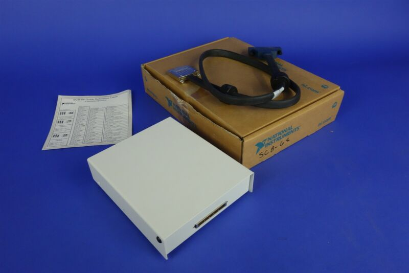 National Instruments SCB-68 with Cable / New in Box.