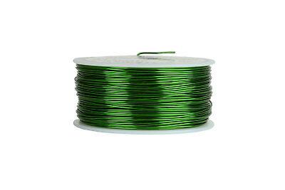 Temco Magnet Wire 20 Awg Gauge Enameled Copper 155c 1lb 315ft Coil Green