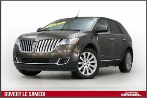 2011 Lincoln MKX AWD  TOIT PANORAMIQUE  GPS