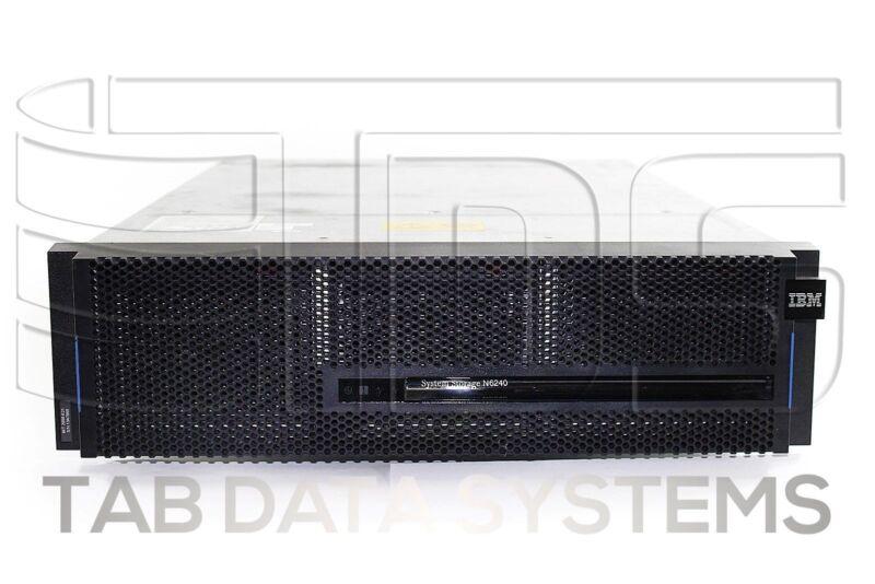 Ibm N6240 Single Chassis W/ Ioxm, X2065a-r6 4 Port Sas, X2054a-r6 4 Port Fc