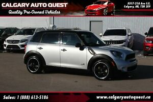 2014 Mini Cooper Countryman ALL4 S AWD / 6-SPEED / PANO-ROOF / M