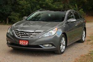 2012 Hyundai Sonata Limited NAVI   Sunroof   CERTIFIED
