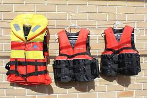 3x New Life Jackets Birkdale Redland Area Preview