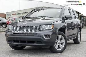 2016 Jeep Compass HIGH ALTITUDE+LEATHER+UCONNECT