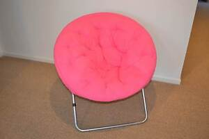 Round Lounge Chair - Pink Tranmere Clarence Area Preview